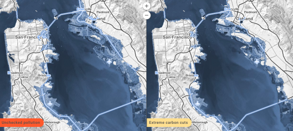 Bay Area sea level rise