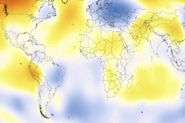135 years of climate change in 30 seconds