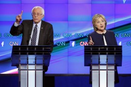 Sanders Clinton debate